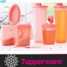 Baru - Seasoning Set Tupperware Tempat Bumbu / Minyak / Alat Dapur - Fourtyshops