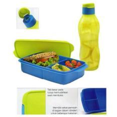 Baru - Tupperware Lunch Set Cool Teen Tempat Bekal Makan Botol Minum Anak - Fourtyshop