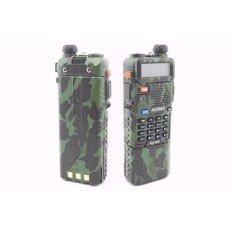 Promo Baterai Cadangan Panjang Double Power 3800 Mah Baofeng Uv Uv5R Loreng Army Kompatibel Untuk Type Ht Handy Talky Baofeng Uv5R 5Rb 5Re 5Replus Murah