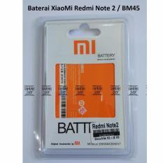 Baterai Handphone XiaoMi Redmi Note 2 BM45  Batrai, Batre, Battery, BM 45, Xiao Mi, HP