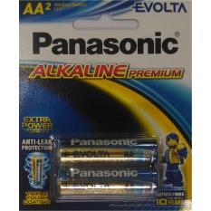Baterai Panasonic Alkaline Premium Evolta AA