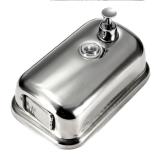 Dapatkan Segera Dinding Kamar Mandi Dapur Stainless Steel Lotion Dispenser Pompa Sabun Sampo