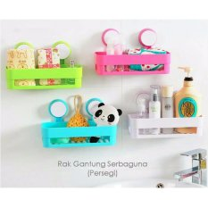 Bathroom Shelves - Hambalan - Rak Serbaguna - Putih