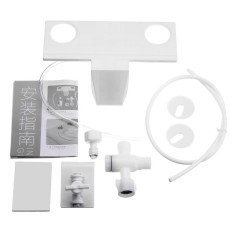 Beli Kamar Mandi Toilet Bidet Air Tawar Spray Pelekatan Kursi Non Electric Shattaf Kit Putih Internasional Kredit Hong Kong Sar Tiongkok