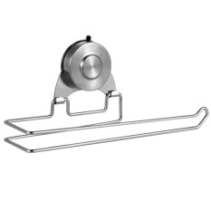 Jual Bathroom Toilet Paper Holder Stainless Steel Wall Mount Vacuum Suction Cup Toilet Paper Holder Kitchen Towel Rack Roll Tissue Holder 10 Inch By Luckyg Intl Oem Online