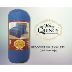 Diskon Bc Quilt Vallery Quincy Bed Cover Saja Navy