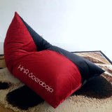 Diskon Bean Bag Kursi Santai Triangel Red Black Legacy Cover Only Bean Bag Murah Hnr Soerabaja