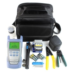 Jual Beau Fiber Optic Ftth Tool Kit With Fc 6S Fiber Cleaver And Optical Power Meter 5Km Black Blue Intl Tiongkok Murah