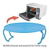 Spesifikasi Beau Rak Microwave Baki Stacker Tutup Keren Rack Pemanasan Oven Mengukus Tray Rack Biru Intl Online