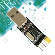 Beau USB Ke TTL Modul CH340 Chip Hitam USB Ke TTL Modul Serial Converter Modul Hitam-Intl