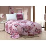 Harga Bed Cover 180X200 Motif Bunga Pink New