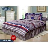 Beli Bed Cover California Motif Gandhara King Size 180 X 200 Cm Murah Di Indonesia