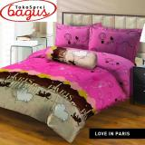 Jual Bed Cover Lady Rose King Love In Paris Jawa Barat