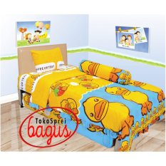 Jual Bed Cover Lady Rose Single 120 Duck