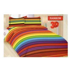 Harga Bed Cover Set Bonita 3D King 180 X 200 Rainbow Bedcover Set Online Indonesia