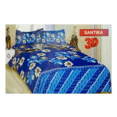 BED COVER SET BONITA 3D KING 180 X 200 SANTIKA / BEDCOVER SET