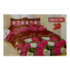 BED COVER SET BONITA 3D KING 180X200 REVALINA / BEDCOVER SET /BADCOVER