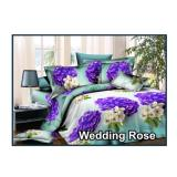 Beli Bed Cover Set Fata Signature Ukuran Queen 160 Wedding Rose Baru