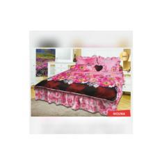 Bed Cover set MyLove ukuran Queen 160 / King 180 Molina