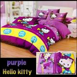 Beli Bed Cover Set Sprei Motif Hello Kitty Ukuran King Size 180X200 Indonesia