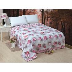 Bedcover 180x200 Bunga Cantik