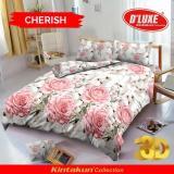 Harga Bedcover D Luxe Kintakun Ukuran 180 X 200 Cherish Yg Bagus