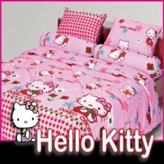 Bedcover Fata Signature Uk.120 X 200 Motif Hello Kitty Diskon