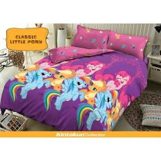Bedcover Kintakun - Classic Little Pony - 180x200