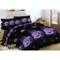 Bedcover Lady Rose Disperse 180 - Rose Purple Murah