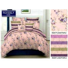 bedcover set jaxine katun motif emery flower
