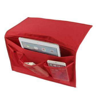 Bedside Caddy Storage Organizer Hanging Bag Kursi Meja Sofa Slipcovers TV Remote Controller Holder Organizer Bag