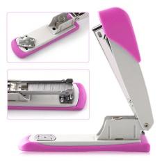 Belle Mini Stapler Plastic Stationery Set Kawaii Stapler Paper Office Accessories - intl