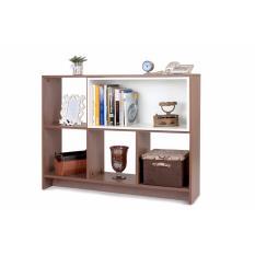 Ben Furniture Lemari Pajangan Melamine Buffet / Open Shelf 1 Uk 120 x 29 x 90.6 cm [JABODETABEK ONLY]