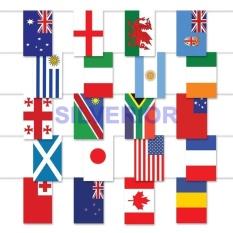 Bendera Meja Kain Negara Dunia Tanpa Tiang Cetak 2 Sisi