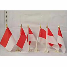 Bendera Merah Putih / Bendera 17 Agustus Tangkai Meja