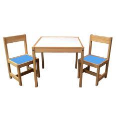 Spesifikasi Benedetto Meja Set Anak 2 Kursi Biru Terbaru