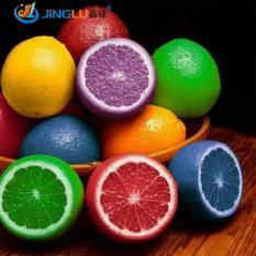 Benih Bibit Biji Buah Rainbow Lemon (Colorful Bonsai Lemon Seeds) CAN BE EATEN