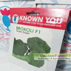 Benih / Bibit Brokoli F1 Green Super