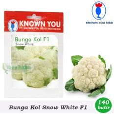 Benih - Bibit Bunga Kol Snow White F1 (Known You Seed)