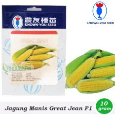 Benih-Bibit Jagung Manis Great Jean F1 (Known You Seed)