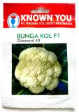 Cara Beli 2 Pcs Benih Bunga Kol F1 200Seed Diamond 40 Known You Seed