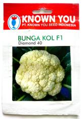 2 Pcs Benih BUNGA KOL F1 200Seed DIAMOND 40 Known You Seed