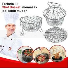 Terlaris Chef Basket  Alat Bantu Menggoreng dan Merebus / Alat Penggorengan / Keranjang Kawat