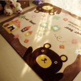 Toko Beruang Kartun Non Slip Tikar Duduk Di Living Room Anti Slip Tikar Yoga Kamar Bayi Playmat Bantalan Karpet 70 Cm X 140 Cm Online Di Tiongkok