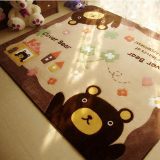 Spesifikasi Beruang Kartun Non Slip Tikar Duduk Di Living Room Anti Slip Tikar Yoga Kamar Bayi Playmat Bantalan Karpet 70 Cm X 140 Cm Dan Harga