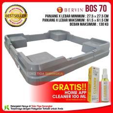 Bervin Kaki Kulkas & Mesin Cuci / Dudukan Kulkas & Mesin Cuci BOS 70 Terbaru