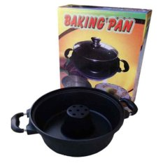 Promo Best Cetakan Bolu Baking Pan Maker Anti Lengket Bahan Tebal High Quality Hitam Murah