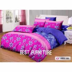 Best Cm Royal Pink 100 Bedcover Set Selimut Dan Seprai Uk 180X200 Pink Best Diskon 40