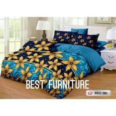 Best Furniture Bedcover Set dengan Selimut dan Seprai uk 180x200