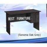 Beli Best Furniture Gold Mt120 Meja Kantor Meja Kerja Meja Multifungsi Dengan Laci Uk 120X72Cm Hitam Abu Kredit Dki Jakarta